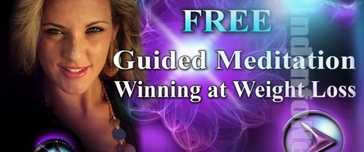 "Listen Free Audio Guided Meditation""Winning Weight Loss"" By Jonathan Parker"